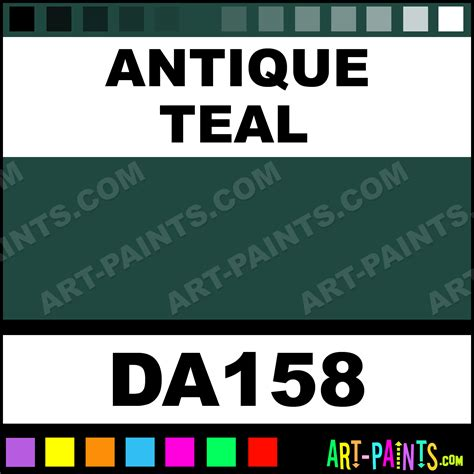 antique teal decoart acrylic paints da158 antique teal paint antique teal color americana