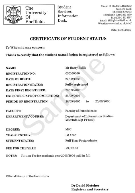 certification letter for student certification letter of student 28 images a letter