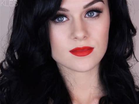 Katy Perry 10 le maquillage r 233 tro de katy perry 10 tutos pour se
