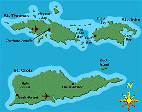 st vi map of st