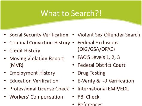 Fcra Compliant Background Check Companies Human Resource Background Checks Fcra Compliance 2014