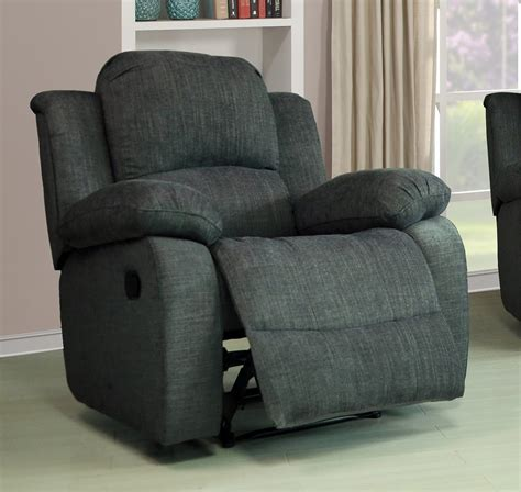 Lazy Boy Recliner Sofa Modern Lazy Boy Valencia 1 Seater Fabric Recliner Sofa Grey