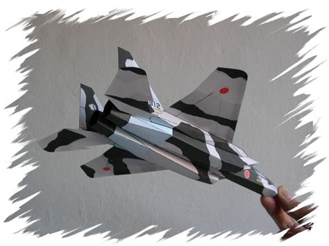How To Make F15 Paper Airplane - paperaircrafts paper f 15j japanese air self defense