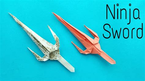 How To Make A Origami Weapon - free coloring pages how to make a paper quot sword