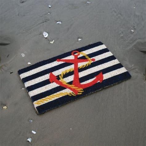 Tropical Doormats anchor 18 x 30 woven coir doormat tropical