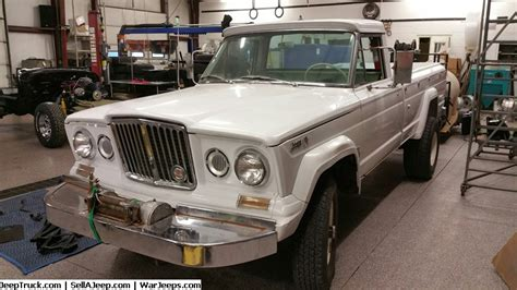 Jeep Gladiator For Sale 1966 Kaiser Jeep Truck Loaded Clean Original California 3