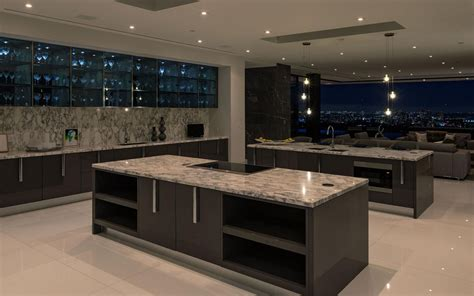 Kitchen Islands Sale by 55 Million Newly Built 14 000 Square Foot Modern Mansion