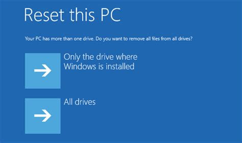 resetting hp windows 10 2 options to factory reset a hp laptop windows 10