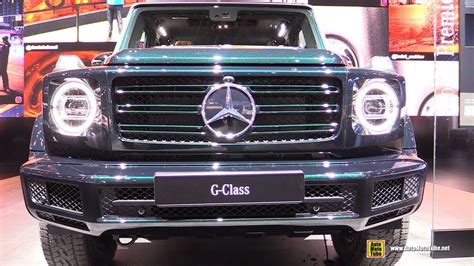 detroit boat show 2019 2019 mercedes g class g500 exterior and interior
