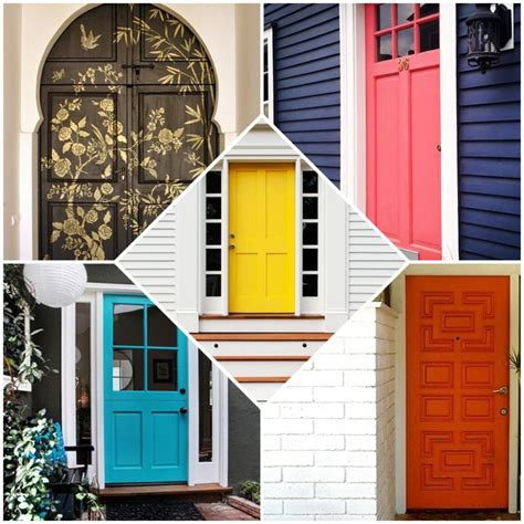 colorful doors 15 colorful front door ideas design sponge