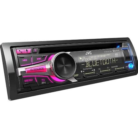 Jvc Car Stereo With Usb Port by Jvc In Dash Bluetooth Cd Stereo Receiver Detachable And Usb Port With Custom Color