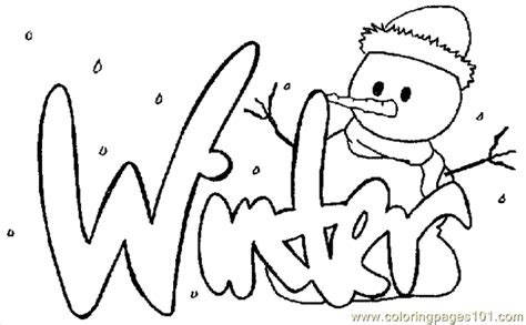 winter coloring pages bestofcoloringcom