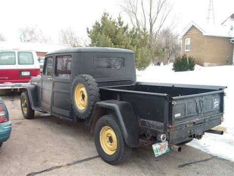 4 Door Willys Truck Images Chopped Willys