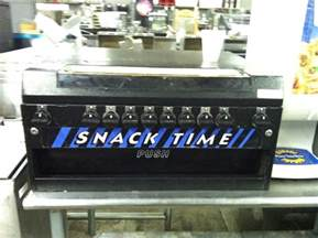compact tabletop snack chip vending machine