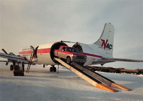 dc 6 swing 34ta dc 6a swing belonging to northern air cargo