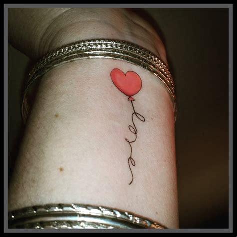faux tatouage coeur ballon amour tatouage temporaire coeur