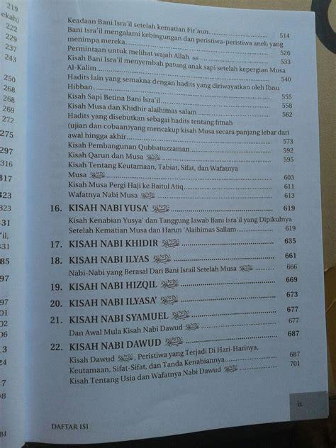 Buku Kumpulan Kisah buku kisah kisah para nabi