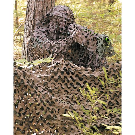 Pop Nosh Does Rehab 3x by 3x2 4m Lightweight Camo Net Blind Camouflage Screen