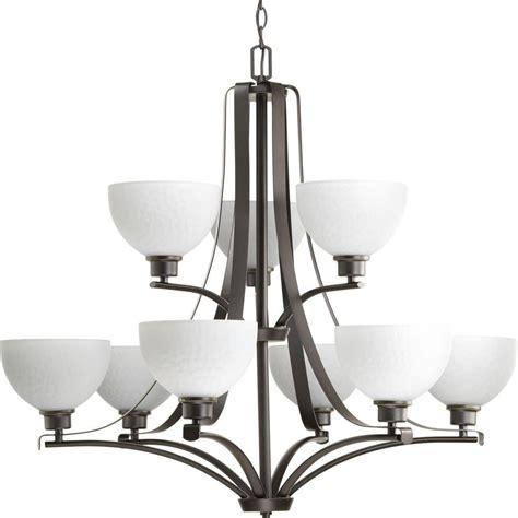 briarwood collection 4 light antique bronze chandelier progress lighting chandelier home depot progress lighting