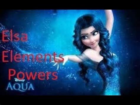 Elsa New 4 Grey elsa elements powers