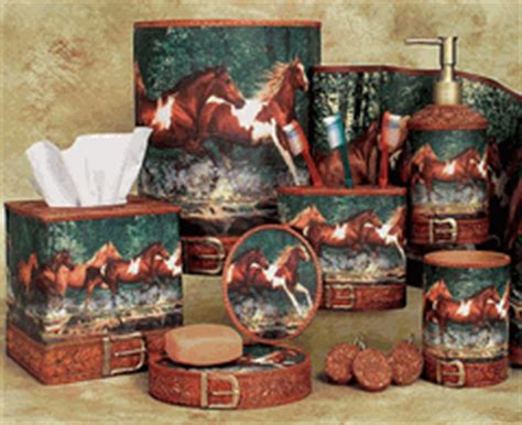 western themed bathroom ideas western themed bathroom decor wild cowboy and horse bath