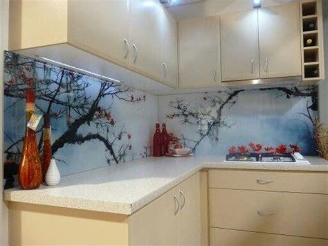 printed glass splashback kitchen   glass kitchen