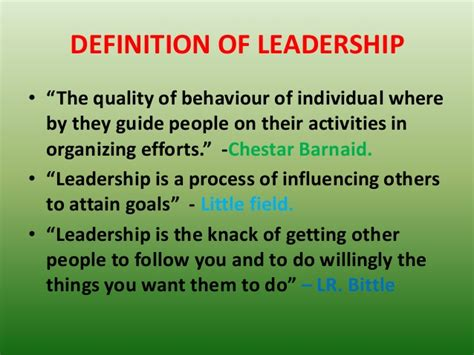 What Is The Meaning Of L by Seminar On Leadership Styles And Its Function In Nursing
