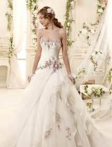 wedding gowns with color 25 best ideas about wedding dresses with color on