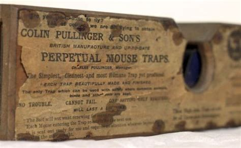 Still Getting Work Done by This 155 Year Antique Mouse Trap Is Still Getting The