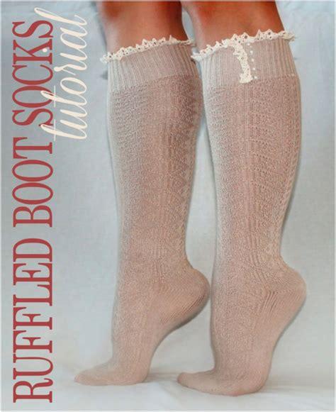 socks diy top 10 diy boot socks top inspired