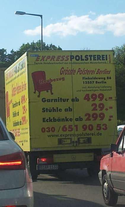 express polsterei express polsterei gmbh 7 bewertungen berlin k 246 penick