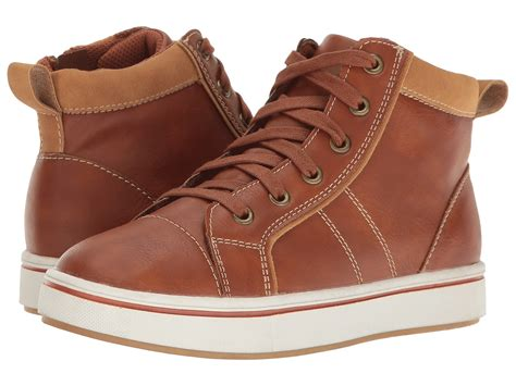steve madden bhitoppr toddler kid big kid cognac boys shoes sneakers and athletic