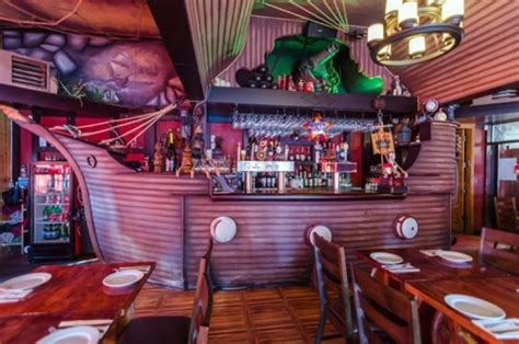 A Russian pirate theme restaurant in Brighton Beach gives solace to Cold War nostalgia seekers