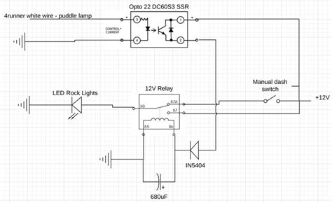 wiring diagram for led rock lights wiring automotive
