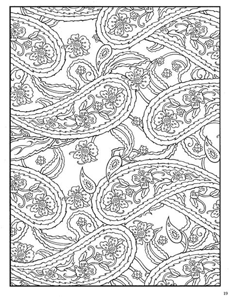 paisley designs coloring book dover paisley designs coloring book dover coloring