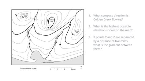 Earth Science Topographic Map Worksheet by 28 Earth Science Topographic Map Worksheet