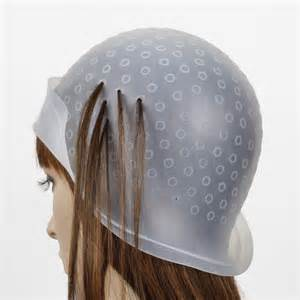 Lowlighting Cap | hair dye coloring tool kit highlighting cap hook brush