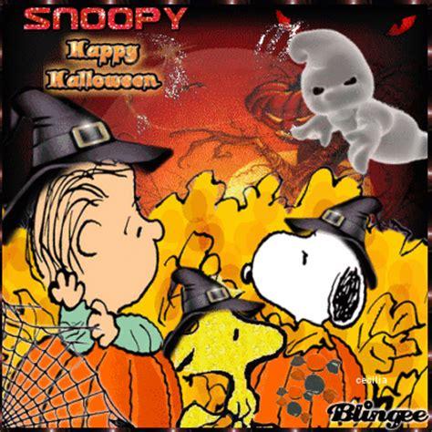 imagenes halloween snoopy snoopy en halloween fotograf 237 a 117442242 blingee com