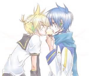 Hot yaoi heaven awwww cute vocaloid boys