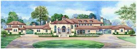 Luxury Estate House Plans by Dallas Design
