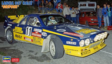 Lancia 037 Rally 1 24 Lancia 037 Rally Quot Grifone Quot Has 20277 Hasegawa