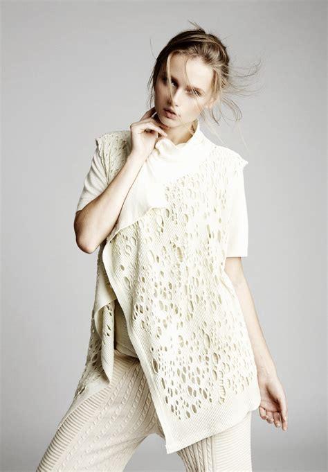 knit wear wearable modern knitwear in motohiro tanji summer