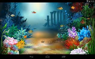 Galaxy Wall Murals underwater world livewallpaper android apps on google play