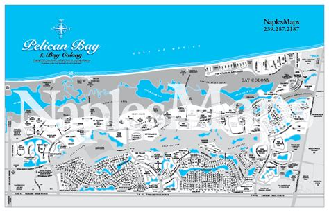 pelican bay florida map map pelicanbay customized sle naples florida