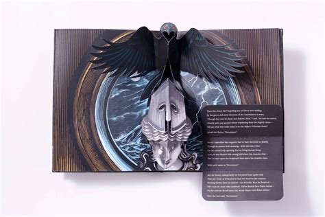 the raven a pop up the raven pop up book