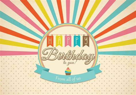 happy birthday card template psd retro happy birthday card psd free photoshop brushes at