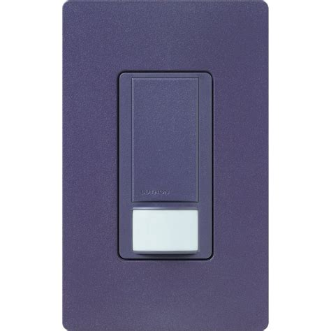Plum Light Switch by Lutron Maestro Dual Voltage Motion Sensor Switch 6