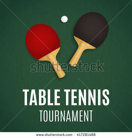 table tennis tournament template ping pong tournament table tennis background stock vector