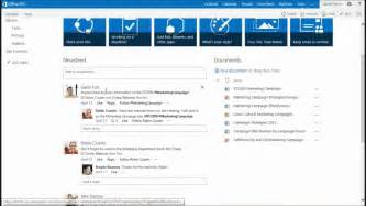 team site template webcast an introduction to team in sharepoint 2013