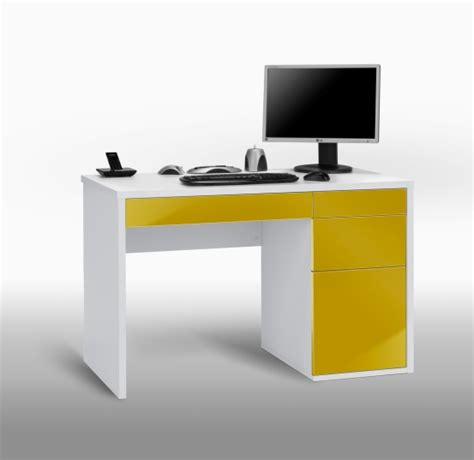 Yellow Computer Desk home desk chair in lemon yellow for 163 69 95 go furniture co uk